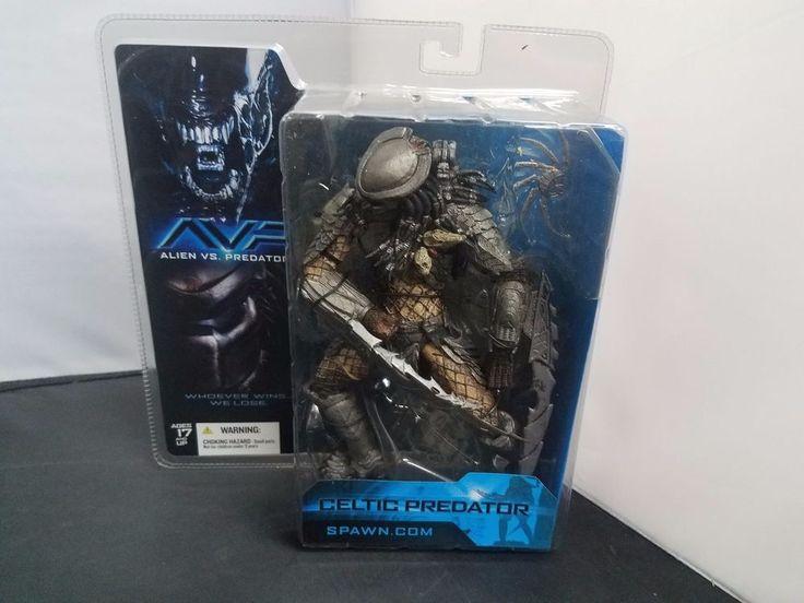 McFarlane Toys Celtic Predator Alien vs. Predator Action Figure Brand New Sealed