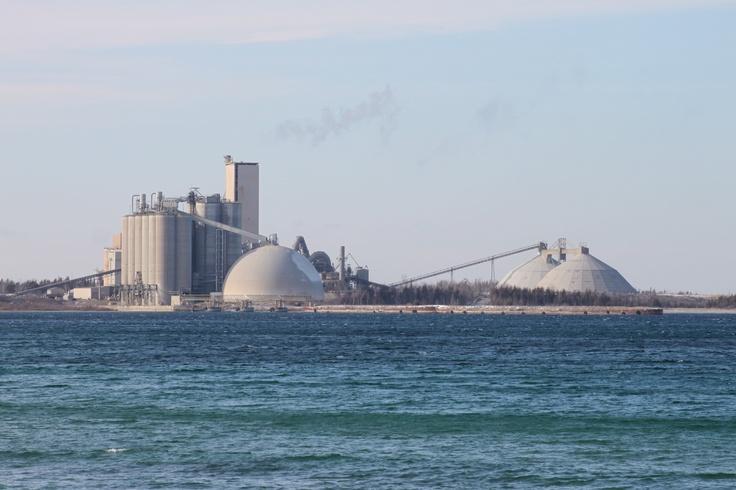 Cement City Michigan Cement Plant : Cement plant on lake michigan charlevoix mi jan