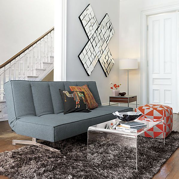 Peekaboo Acrylic Coffee Table Clear Coffee Table Coffee And - Cb2 peekaboo coffee table