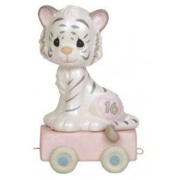 16 And Feline Fine - Age 16 - Birthday - Figurines - Precious Moments