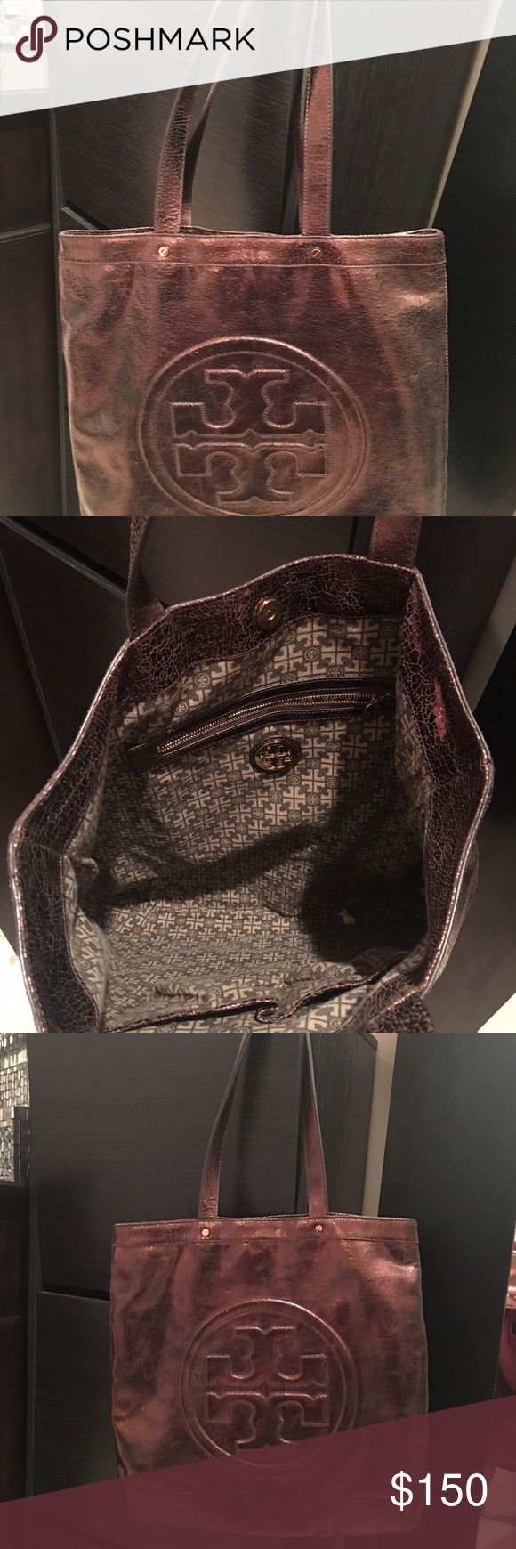 Tory Butch handbag Very good conditions, bronze color Tory Burch Bags Totes