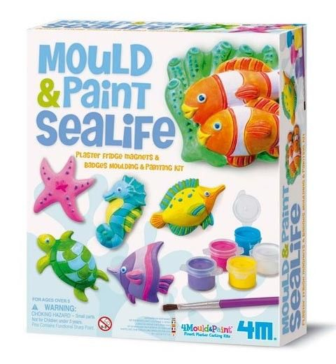 Mould and Paint Craft Kit - Underwater Sealife  #entropywishlist #pintowin  ReefHQ at home!