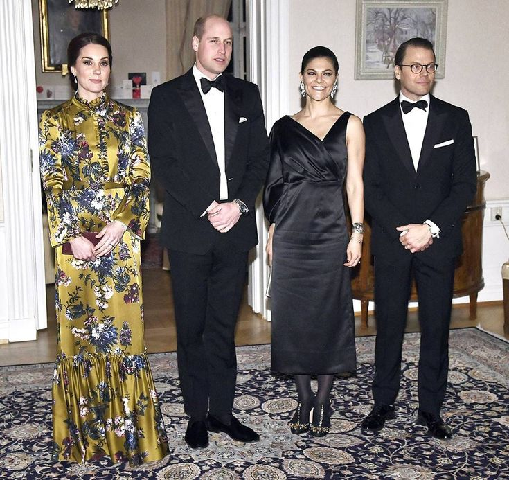 ESC: Prince William, Kate Middleton, Princess Victoria, Prince Daniel