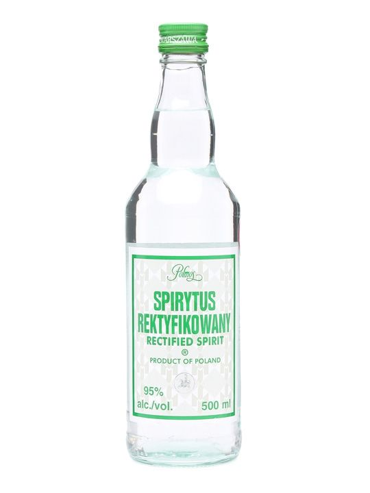 Spirytus Rektyfikowany Vodka (95%) / Polmos - this will remove your brain...