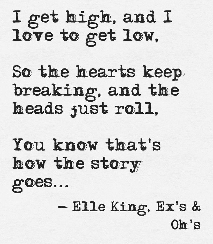 Elle King - Ex's & Ohs This quote courtesy of @Pinstamatic (http://pinstamatic.com)
