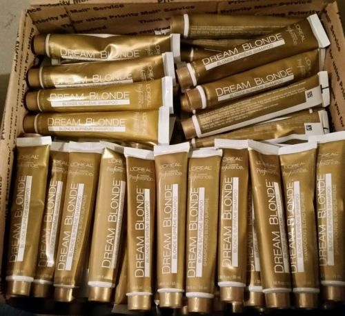 wholesale Hair Care: (125) Loreal Dream Blonde, Blonde Supreme Shampoo (1.86 Fl.Oz Each) -> BUY IT NOW ONLY: $125.0 on eBay!