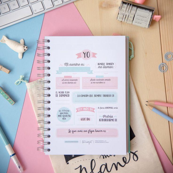 Agenda anual 2016 ¿Qué planes geniales tienes para hoy? - Mr. Wonderful …