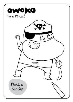 El Pirata Santino