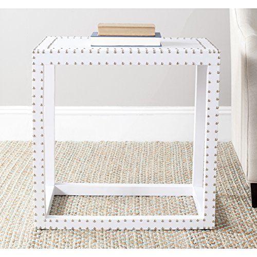 Safavieh Home Collection Lena End Table, White Safavieh https://www.amazon.com/dp/B00EU6IKAW/ref=cm_sw_r_pi_dp_x_C4agAbCDWMMJ5
