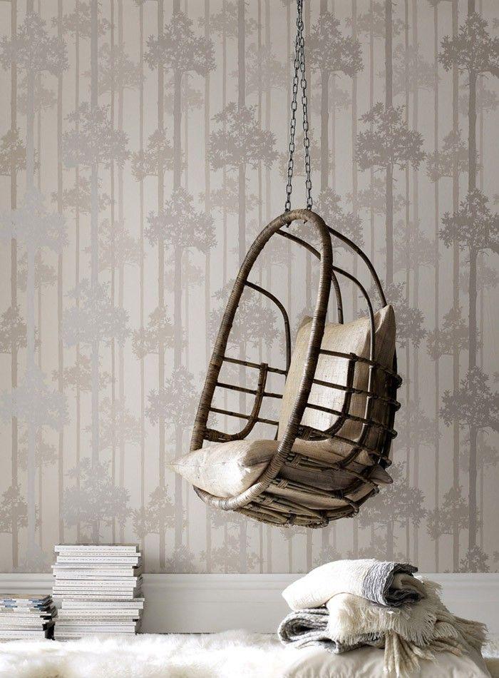 158 besten Tapeten Bilder auf Pinterest Tapeten, Wohn - tapeten wohnzimmer grau