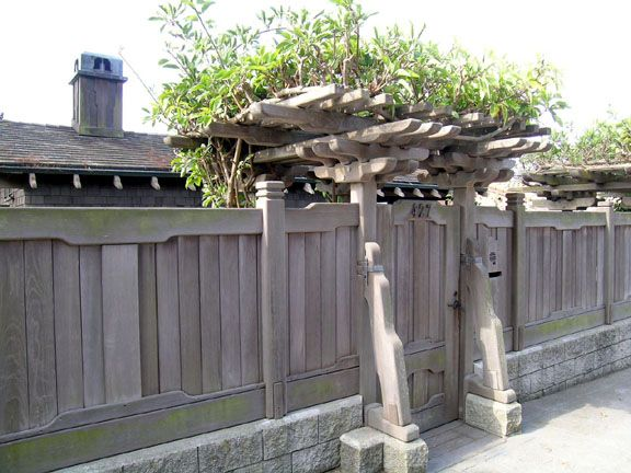 asian fences and gates | Japanese Fences and Gates