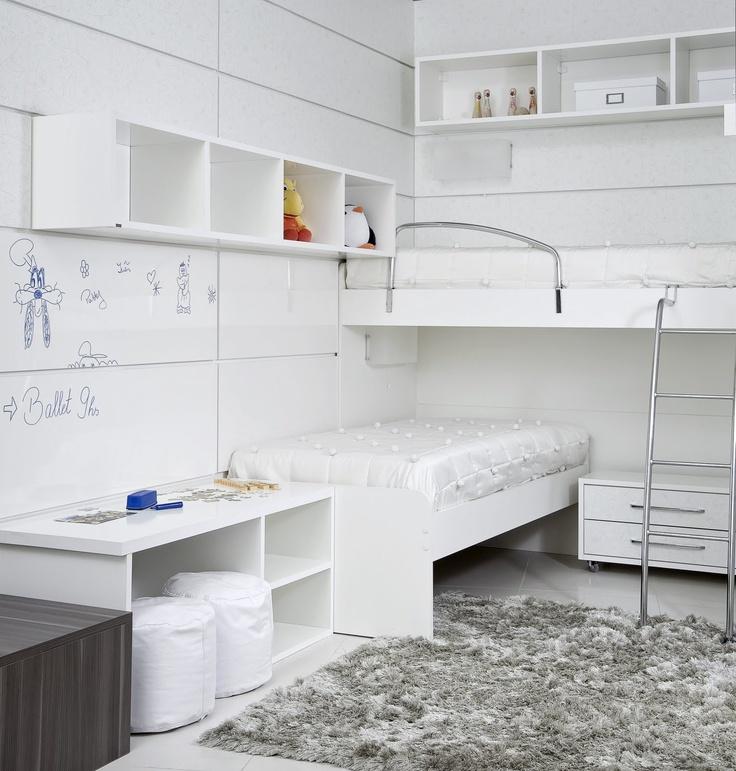 22 melhores imagens de quartos para a garotada no for Mobilia uno furniture
