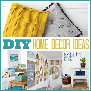 20 DIY Home Decor Ideas | The 36th AVENUE: Diy Home Decor, 36Th Avenue, Furniture Makeover, Home Decor Ideas, Decor Projects, Handmade Gift, Cleaning Tips, Diy Projects, 20 Diy