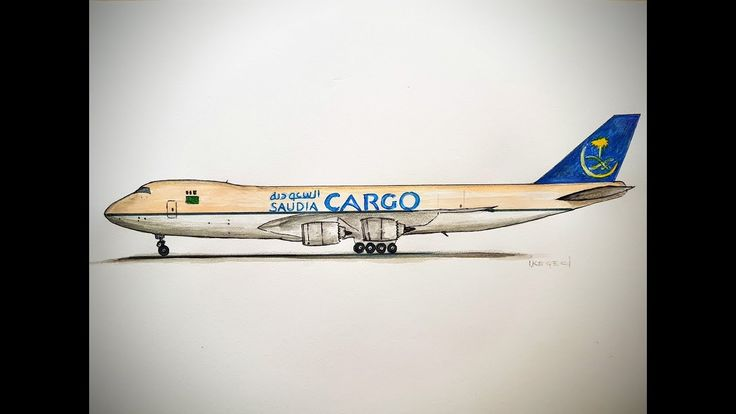 how to draw boeing 777