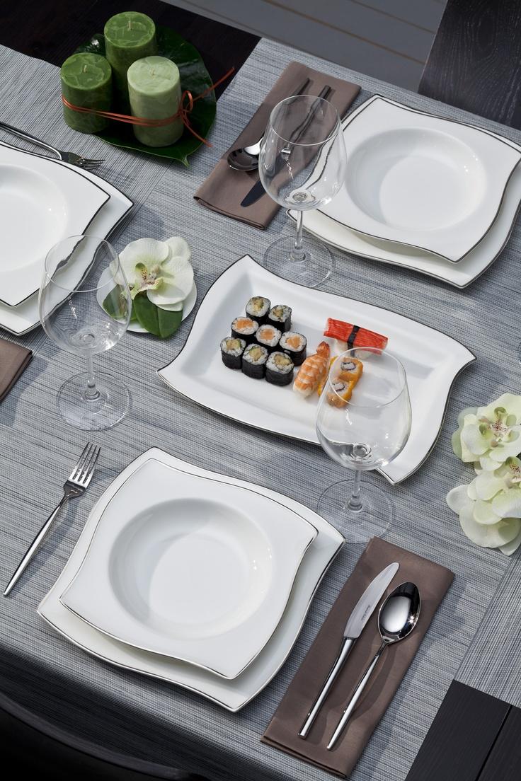 Waves Yemek Takımı / Dinnerware #bernardo #tabledesign #kitchen #mutfak
