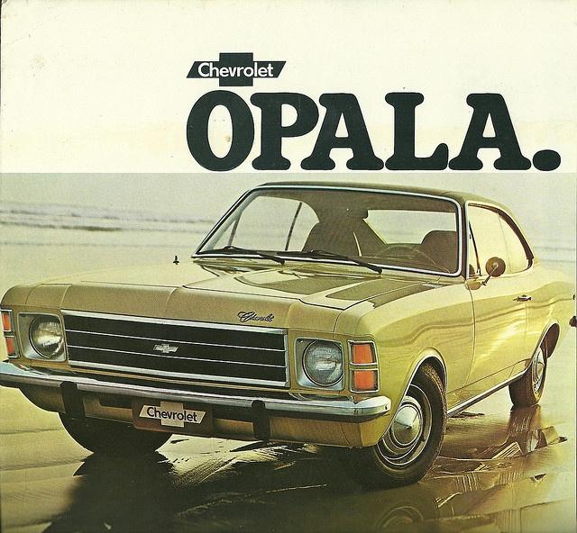 Chevrolet Opala coupe igual ao meu