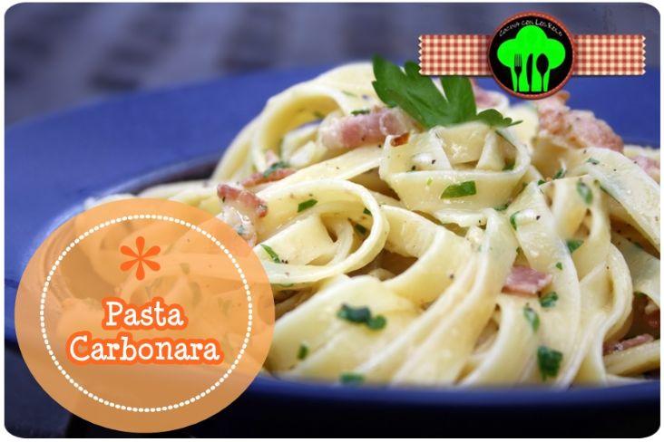 Pasta Carbonara - Cocina con los Rolo