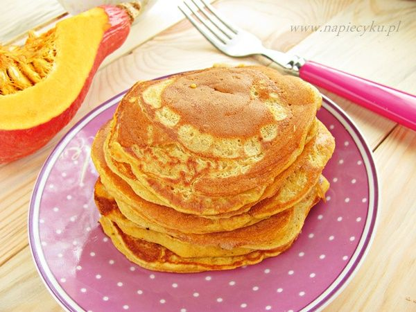 Pyszne, jesienne pancakes z dynią i jogurtem                                                     Тыквенные блины с йогуртом