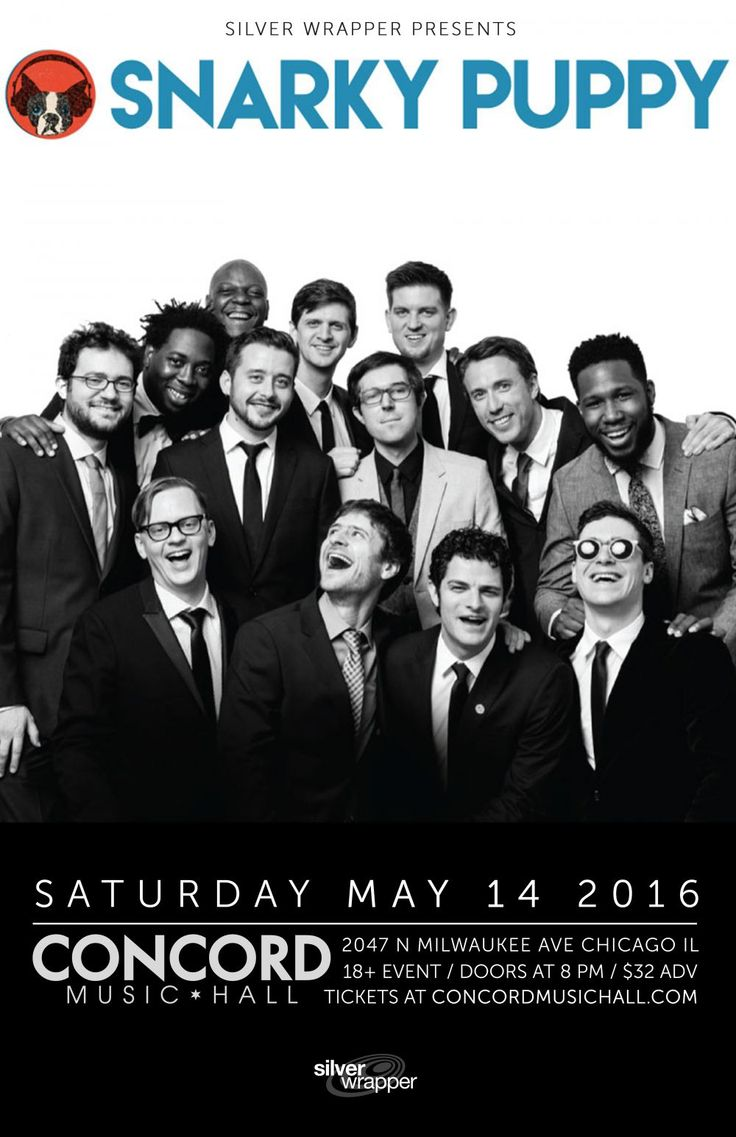 Snarky Puppy at Concord - May 14, 2016
