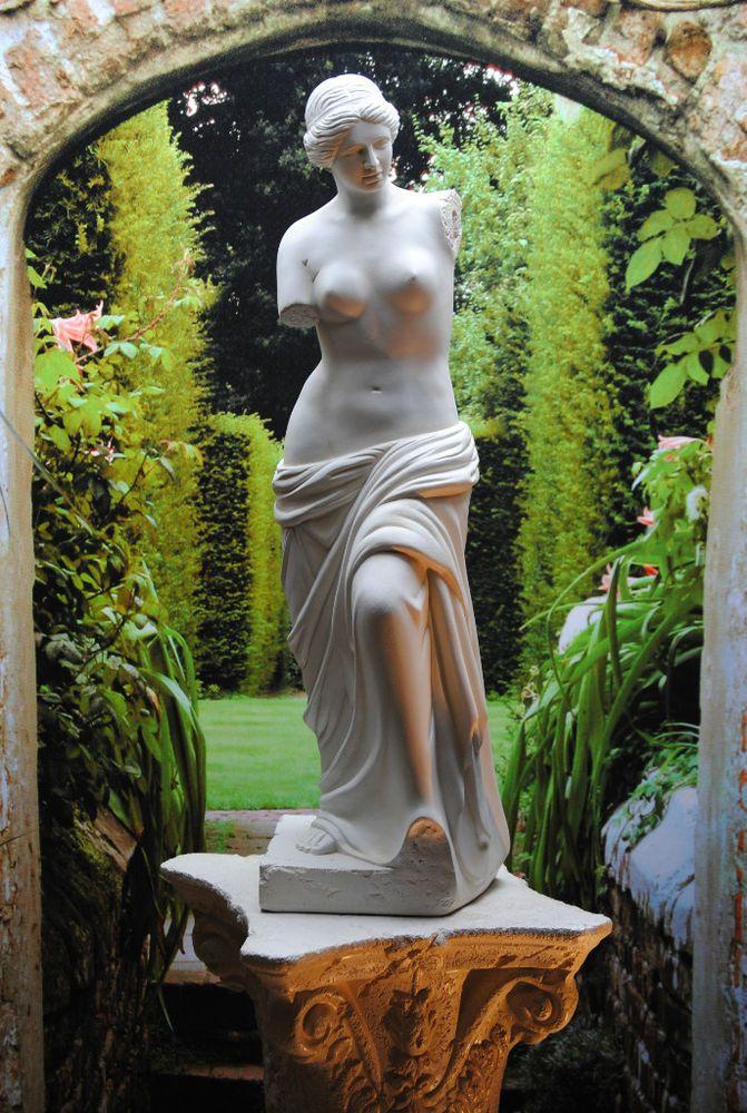 Schöne Figur Venus von Milo Skulptur Statue 0005 Top edel in Garten & Terrasse, Dekoration, Gartenfiguren & -skulpturen   eBay