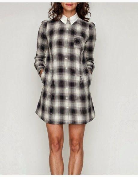 DIY thrifted men's shirt into dress