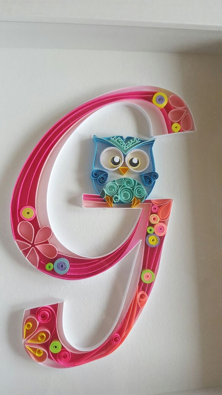Best 20 quilling letters ideas on pinterest for Paper quilling work