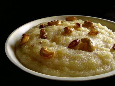 Apple Kesari ~ Apple and Semolina Pudding | Indian Cuisine
