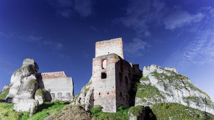 Olsztyn Castle visited again - Next visit in Olsztyn Castle near Częstochowa.