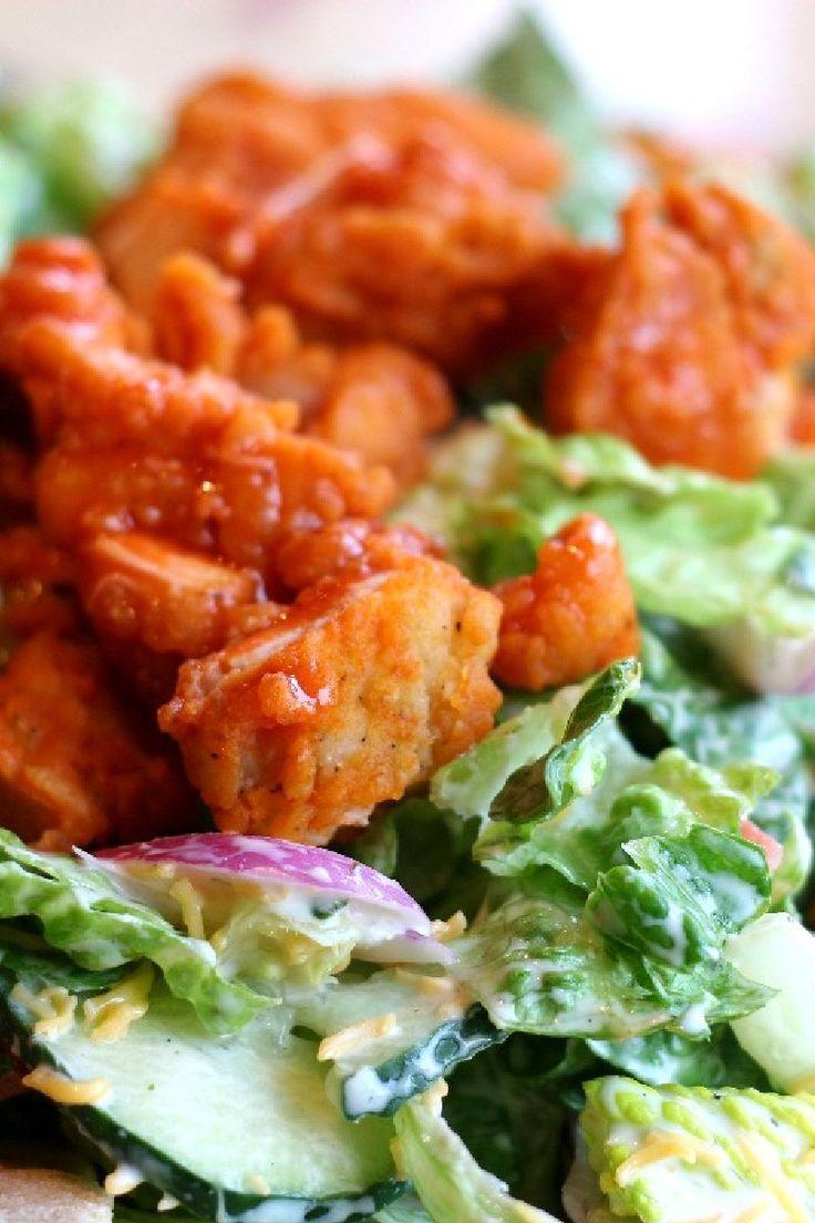 Buffalo Chicken Salad gets a lighter treatment