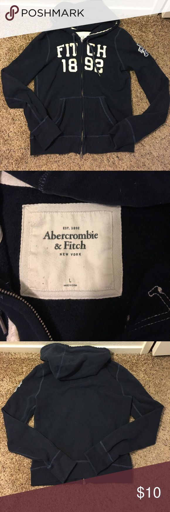 Abercrombie & Fitch Sweatshirt Gently used, like new. Smoke free home. NO TRADES. Abercrombie & Fitch Sweaters