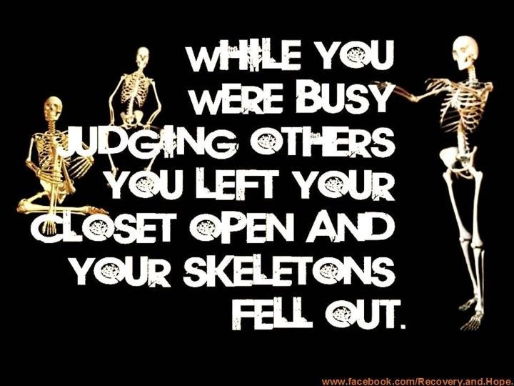 Judging others. | Quotes that make me smile | Pinterest ...