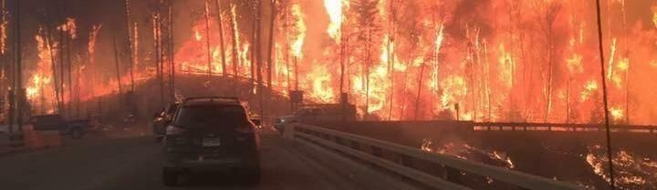 'It's a Fucking Ghost Town': Inside Canada's Fort McMurray As It Burns