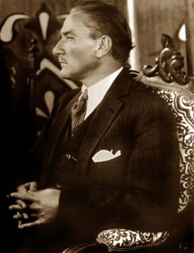 Mustafa Kemal Atatürk; one of the most stylish men of all times