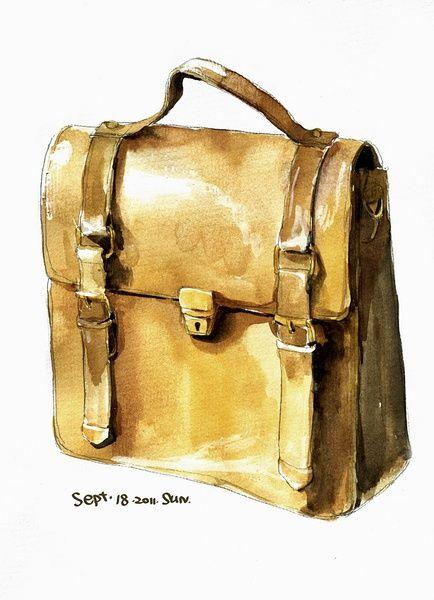 watercolor purse diagram 1000+ images about sketch handbags on pinterest ...