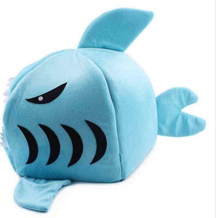 Shark Dog Kennel Cat Bed Cat House