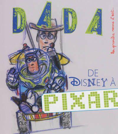 Dada, n° 189 : de Walt Disney à Pixar -  Janvier 2014