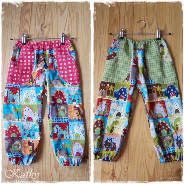 Dino pants Oblečení pro děti i dospělé :: Kathy