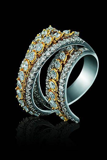 #diamond and yellow sapphire #bracelet