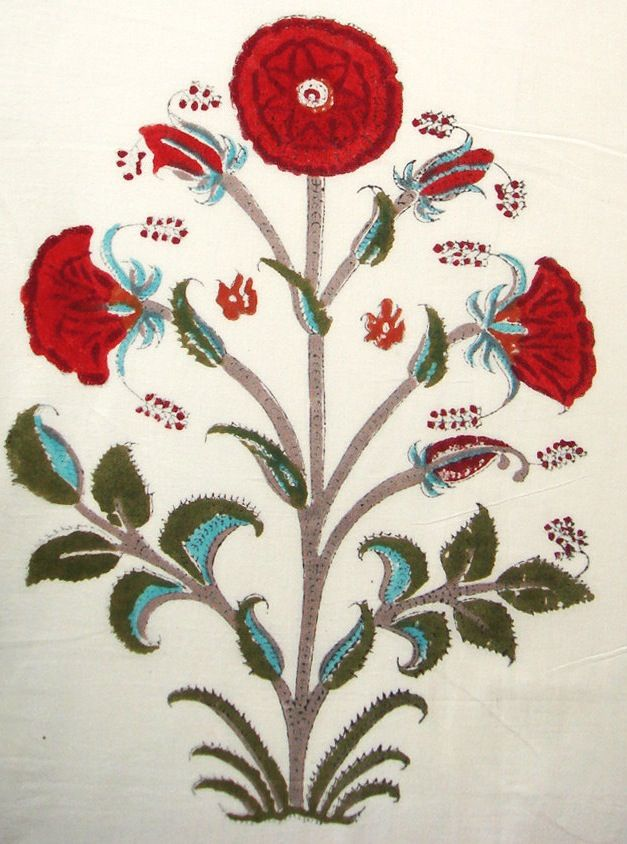 Mughal Indian Flowers