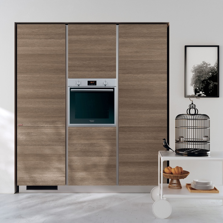 Evolution design by Vuesse.  #Scavolini #Living #kitchens