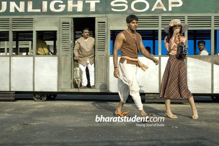 Telugu Movies Arya & Amy Jackson Photo gallery