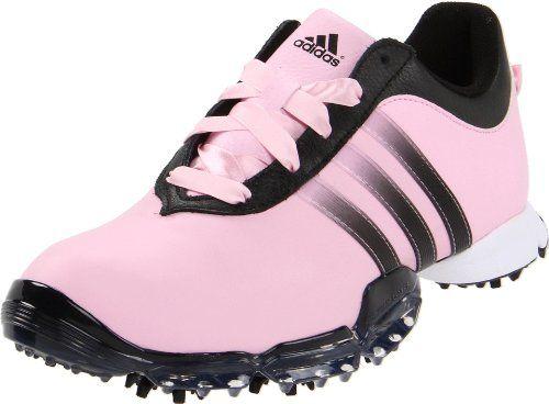 adidas Women's Signature Paula 2.0 Golf Shoe,Pale Pink/Bl...