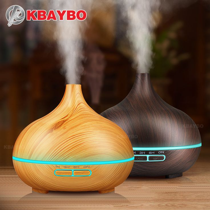 300ml Air Humidifier Essential Oil <font><b>Diffuser</b></font> Aroma Lamp <font><b>Aromatherapy</b></font> Electric Aroma <font><b>Diffuser</b></font> Mist Maker for Home-Wood