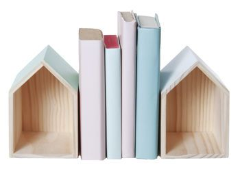 Colour Pop House Bookends