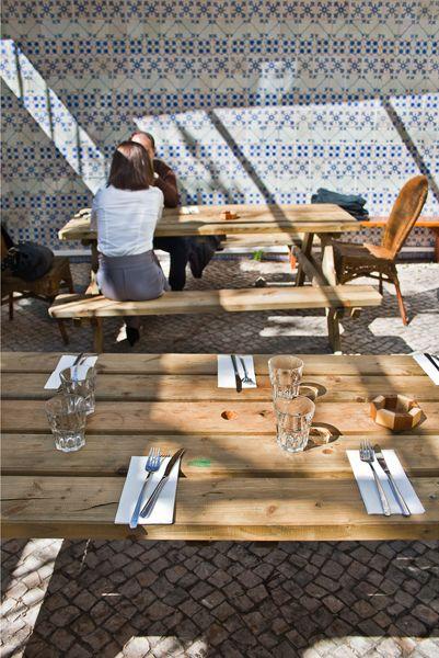 Un lieu délicieusement vintage à Lisbonne