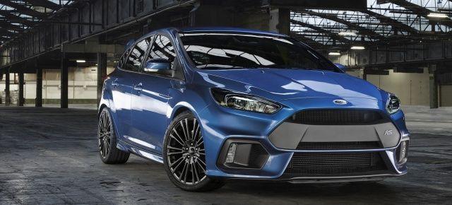 Weltpremiere: Erste offizielle Bilder und Infos : Das ist der neue 2015er Ford Focus RS