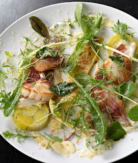 Roast Scallops With Ham and leek recipe By Chef Tom Aikens