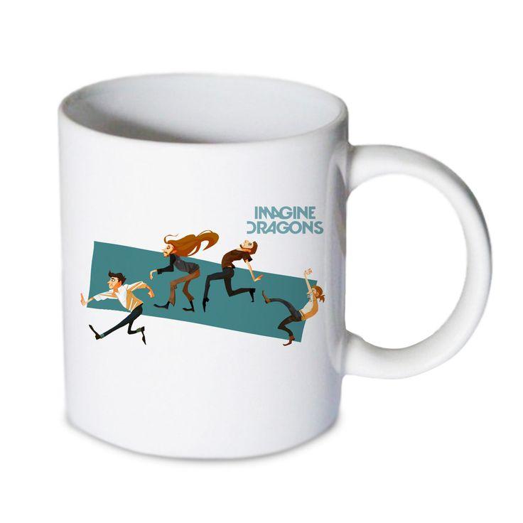 Coffee mug - Imagine Dragons Mug - Custom Coffee mug - Ceramic mug by babydragonshop on Etsy   #mug #harry #potter #mugs #cups #coffee #tea #hot #sublimation #quote #gift #birthday #custom #lyric #band #mom #sister #men #women #11oz #Ceramic #white #belcher #burger #yonce #beyonce #jon #snow #hogwart