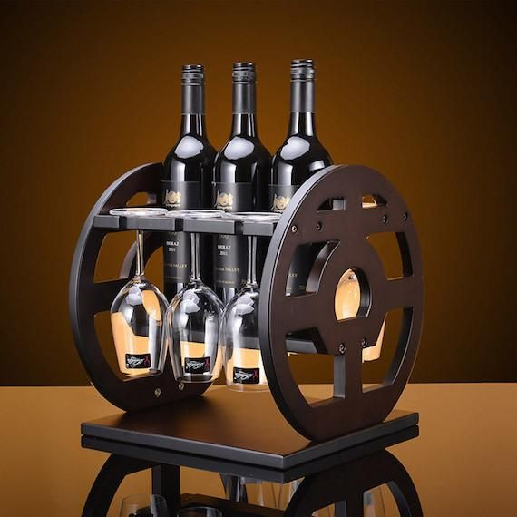 They make a visual masterpiece for your home that you can easily move from one table to another depending on where you would like to enjoy your vintage with family and friends.