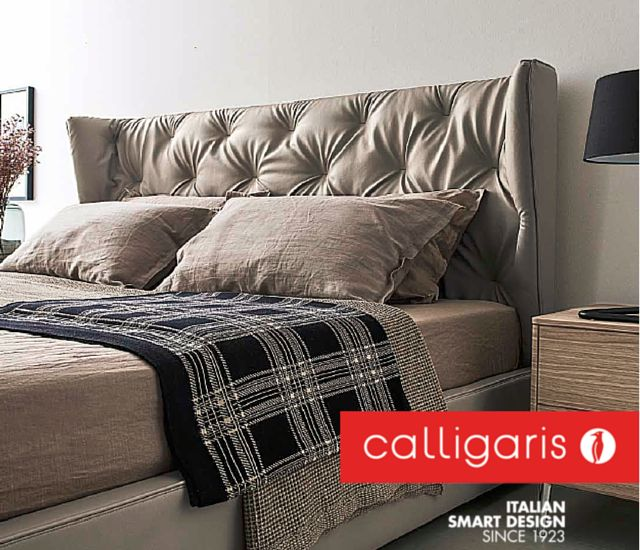 The New Wynn Bed By Calligaris Is Regal And Oh So Luxurious Complete Your Bedroom Retreat With More From Calligaris By Pomp Home
